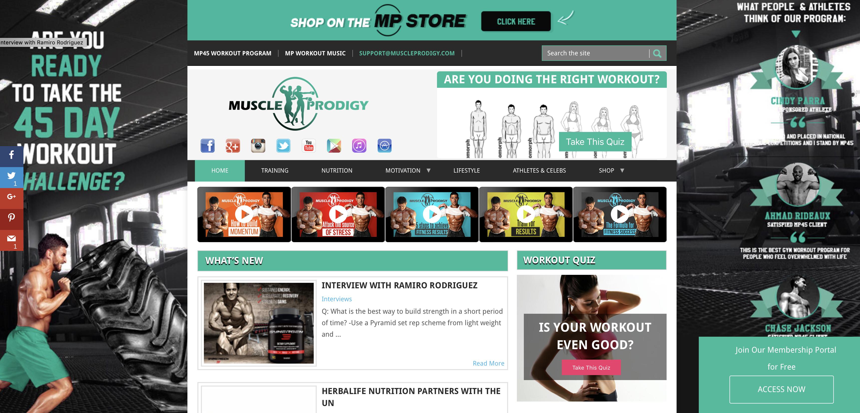 MuscleProdigy.com